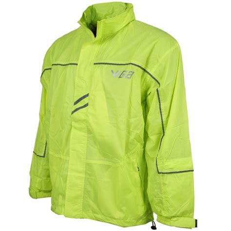 fluorescent waterproof cycling jacket viga cyclone mens fluorescent waterproof running cycling