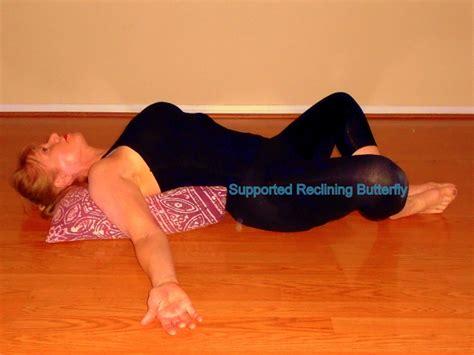 reclining butterfly pose restorative yoga methods for recovery and health