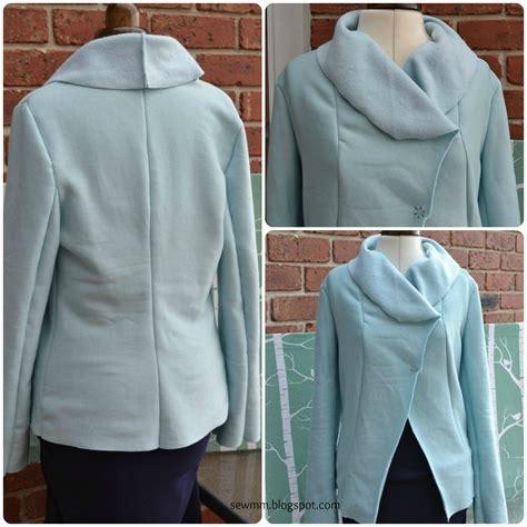pattern sewing jacket duck egg blue fleece jacket sewing projects