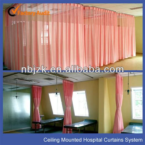 truck curtain rail flexible aluminium curtain rail for hospital curtains