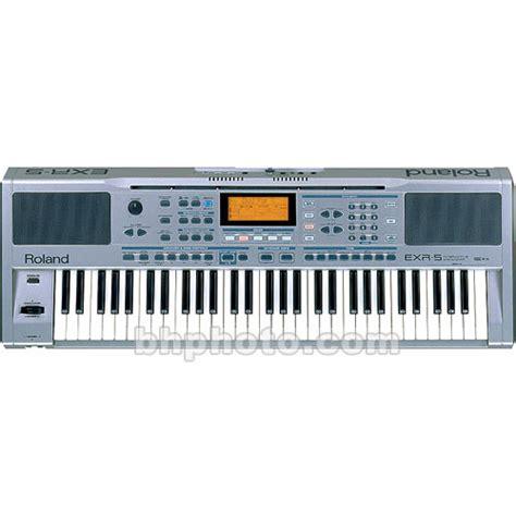 Keyboard Roland Exr 5 Roland Exr 5 61 Key Arranger Keyboard Exr 5s B H Photo
