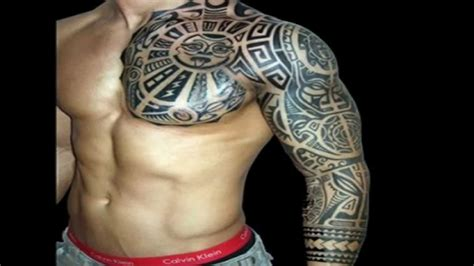 mens half sleeve tribal tattoos simple tribal half sleeve drawings amazing