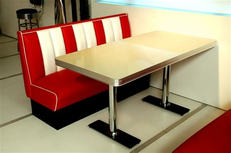diner bench bel air retro furniture diner booth table to25w 150 x 76
