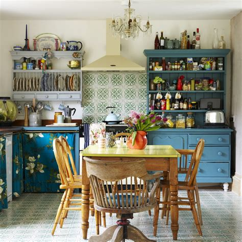 budget kitchen ideas and vintage style on a shoe string