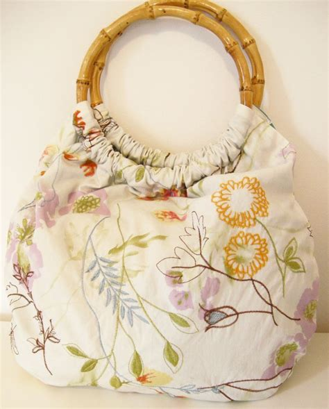 Handmade Clutches Pattern - diy bamboo handle purse the drobe bags