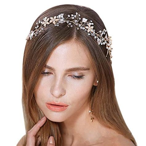 Vintage Bridal Hair Accessories Ireland bridal vintage pearl vine hairbands wedding hair