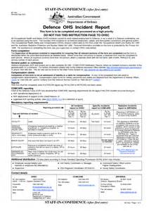 ohs incident report template free best photos of human resources incident report template