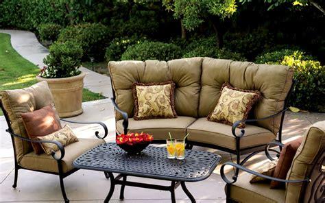 deep seating outdoor sofa patio furniture deep seating sectional cast aluminum set