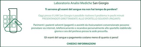 laboratorio analisi pavia laboratorio analisi mediche san giorgio