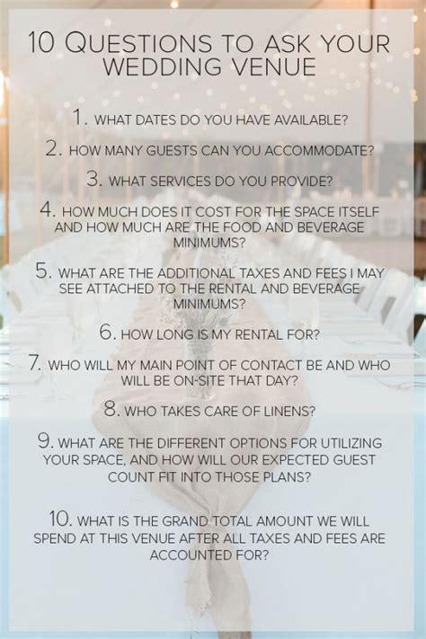 25 best ideas about wedding venue questions on wedding preparation wedding