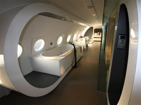cold war airplane hotel room