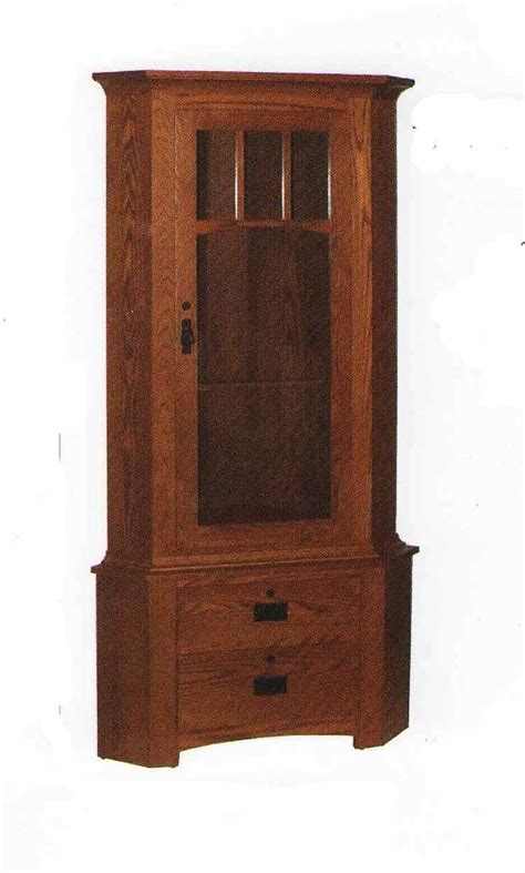 Handmade Gun Cabinet - amish made custom gun cabinets the wood loft amish