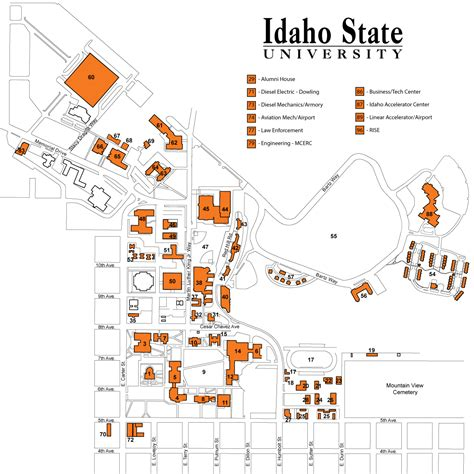 isu map facilities services isu