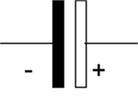 symbol for an electrolytic capacitor circuit symbol homofaciens