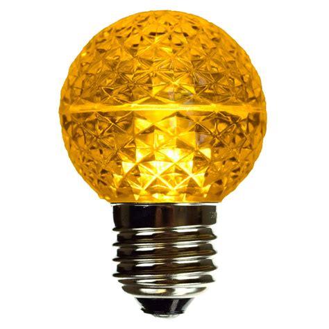 Yellow Led Globe Light Bulb Led Globe Lights