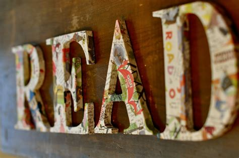 How To Make Decoupage Letters - decoupage letters cositas st albans