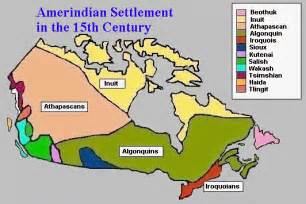 map of aboriginal groups in canada the nations and languages site for language