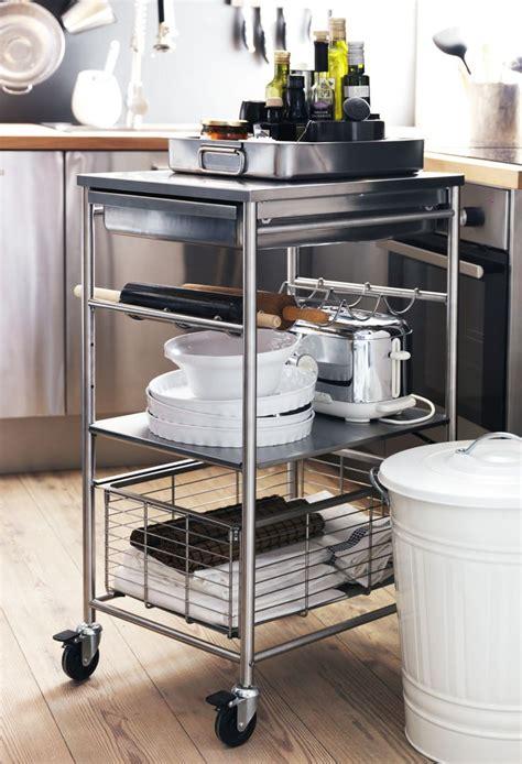 ikea grundtal kitchen bathroom cart storage rolling grundtal roltafel maak je keuken helemaal af met onze