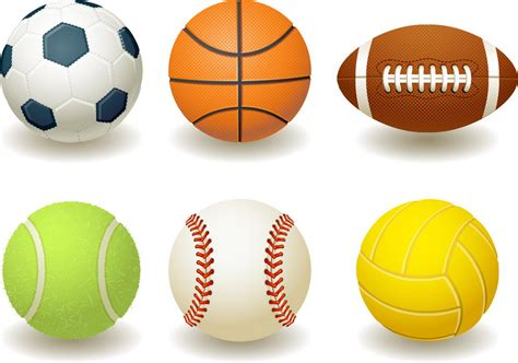 all sports balls pictures to sports clipart cliparts co