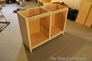 workbench woodworking plans - how to build and install kitchen cabinets from scratch youtube