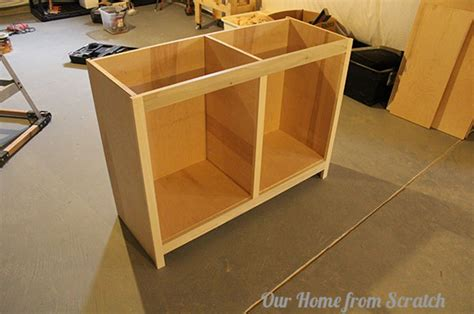 building kitchen cabinets from scratch