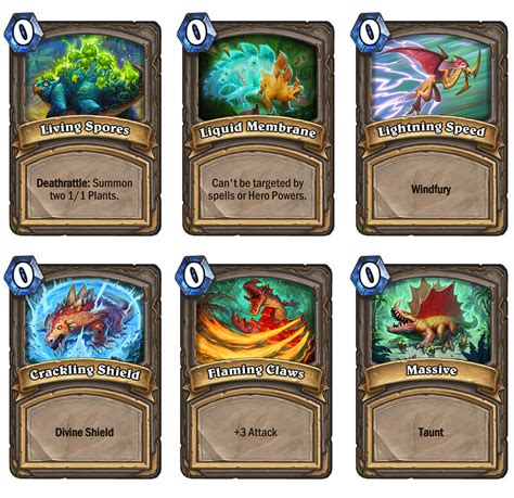 printable hearthstone card list hearthstone s journey to un goro expansion will bring new