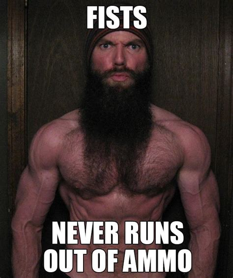 Hairy Men Meme - manly beard meme