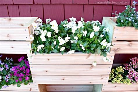quot d quot is for diy workshop vertical planter that s my