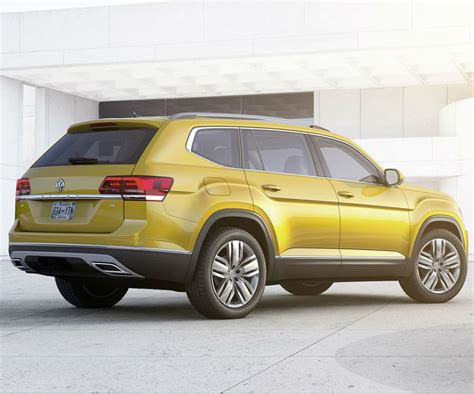 volkswagen atlas 7 new vw atlas is the first ever 7 seat suv of the brand