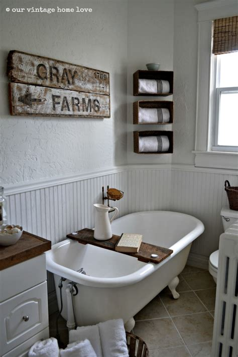 farmhouse bathroom our vintage home love farmhouse bathroom