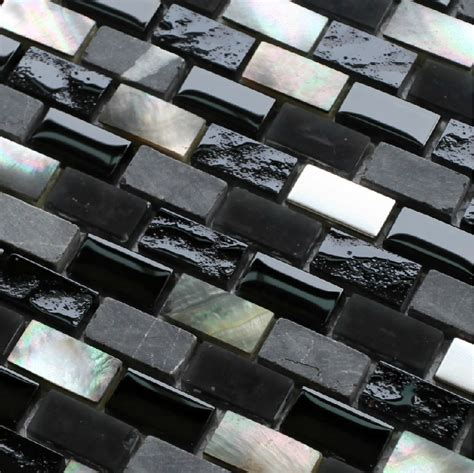 black mosaic bathroom grey stone mosaic black glass mosaic kitchen backsplash