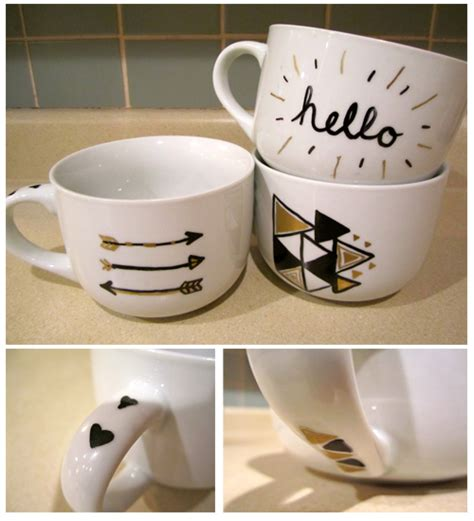 mug designs brika brika sharpie mugs diy