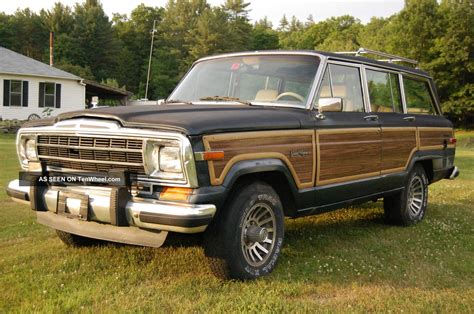 Jeep Wagonner 1989 Jeep Grand Wagoneer
