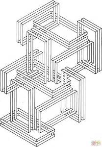 Optical Illusion 24 Coloring Page Free Printable Coloring Pages Optical Illusions