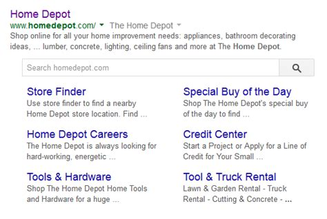 is testing a new site search in search results