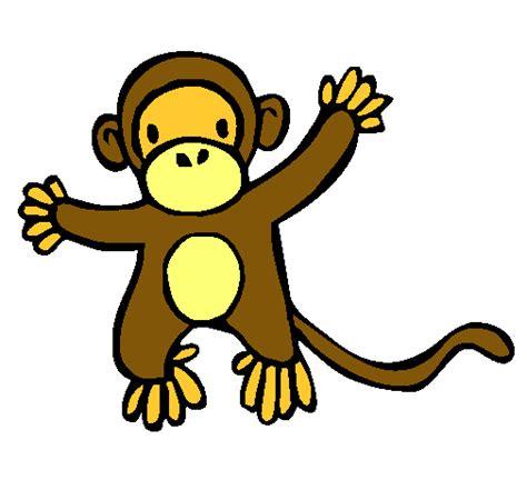 imagenes de monos faciles para dibujar dibujo de mono pintado por mono en dibujos net el d 237 a 24