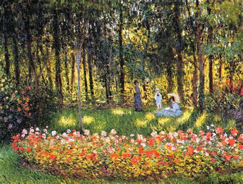 Monet In The Garden by Artists Claude Monet Part 8 1875 1876