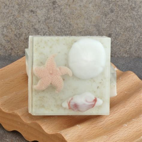Handmade Glycerin Soap Bars - guest size beaches handmade glycerin soap bar tropical
