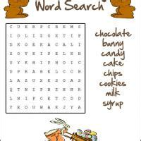 printable word search chocolate chocolate word search