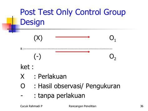 Test Post by Rancangan Penelitian