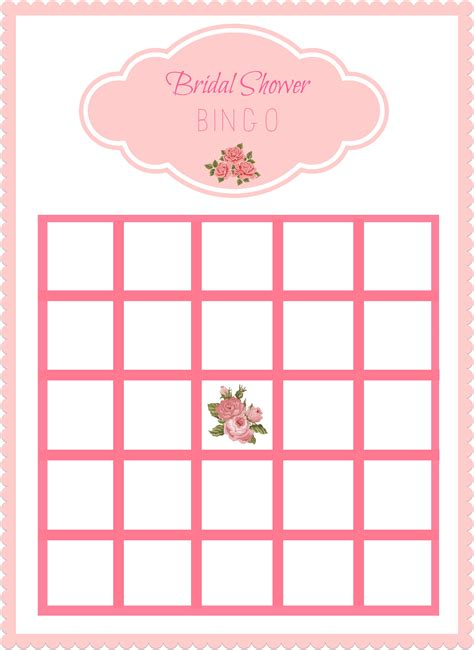 free bridal bingo card template 8 best images of free printable bingo cards minnie