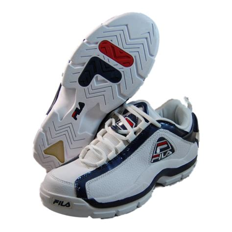 basketball shoes fila fila mens 96 low white basketball shoes 1vb90039 127 ebay