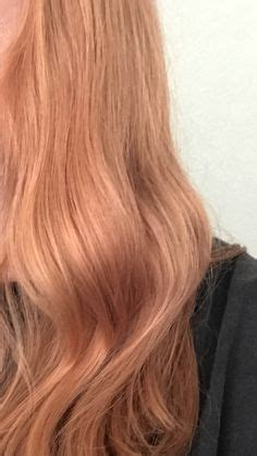 strawberry blonde hair color formula inspiration by lindsey washbourne wella illumina 9 43 and