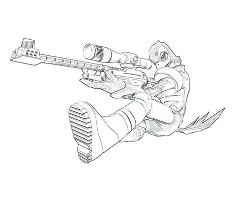 coloring pages of pixel gun gun coloring pages best sniper rifle coloring pages