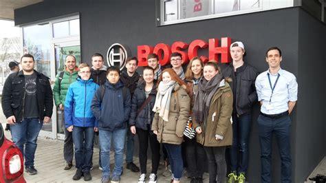 Firma Bosch by Sch 252 Ler Ingenieur Akademie Zu Besuch Bei Der Firma Bosch