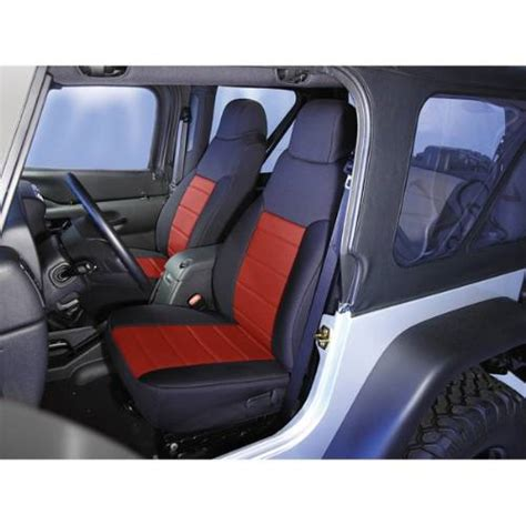 1995 Jeep Wrangler Seat Covers Jeep Yj Wrangler Neoprene Front Seat Covers 1991 1995