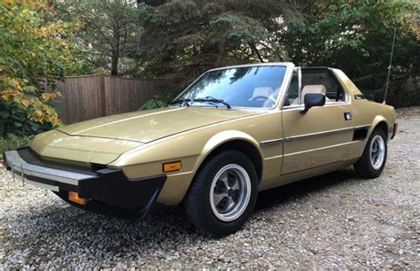 1979 fiat x19 19k mile 1979 fiat x1 9 for sale on bat auctions sold
