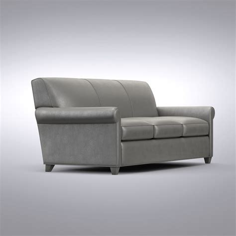 crate and barrel oxford sofa crate barrel oxford 3d model