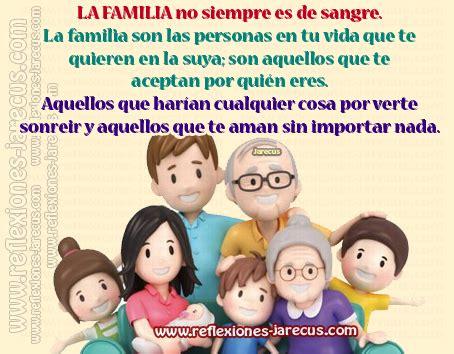 imagenes de la familia reflexiones la familia no siempre es de sangre reflexiones y