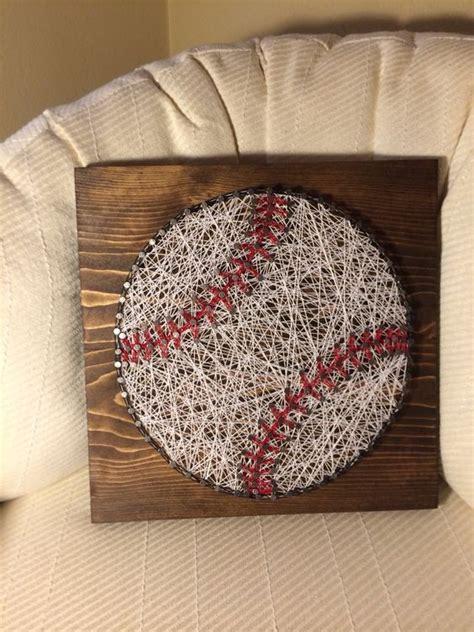 boys baseball schlafzimmer baseball crafts fadenbilder nagelbilder und bastelsachen